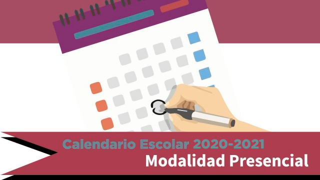 Calendario Modalidad Presencial